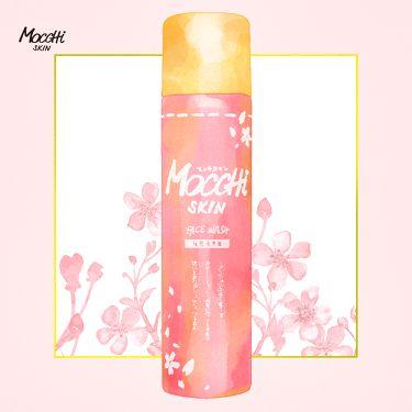 MoccHiSKIN(モッチスキン)公式アカウントさんの「モッチスキンモッチスキン吸着泡洗顔SK(桜)<洗顔フォーム>」を含むクチコミ