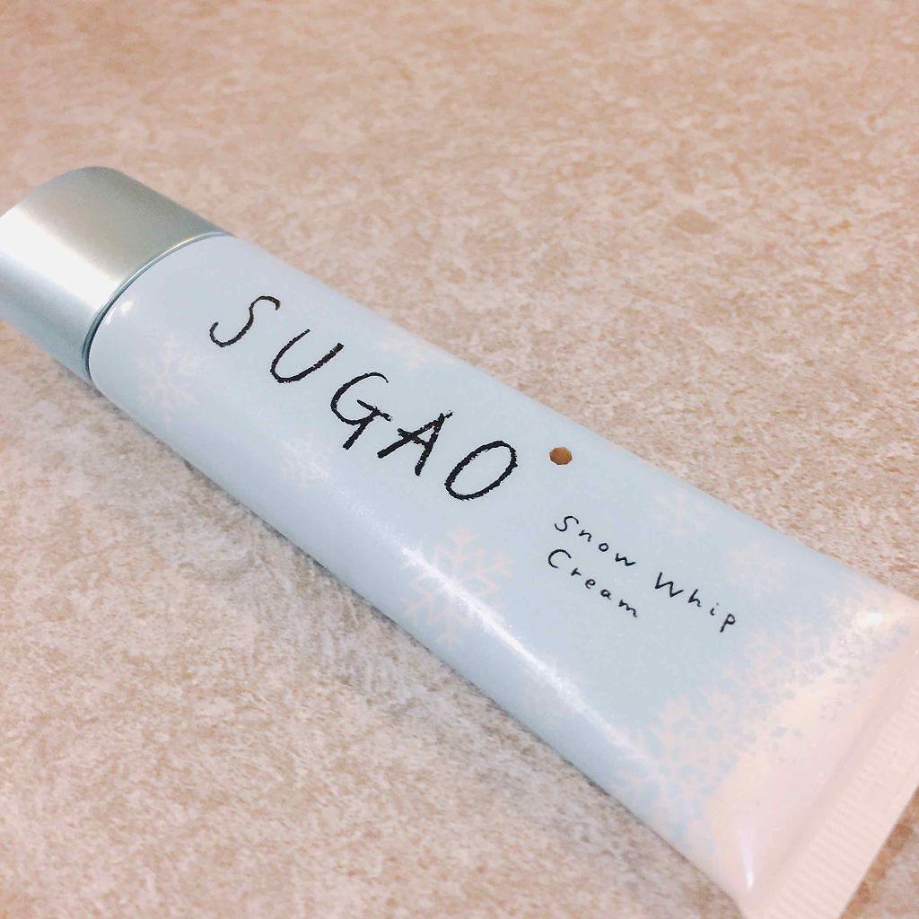 SUGAOのスノーホイップクリーム