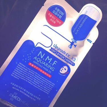 N.M.FアクアアンプルマスクJEX/MEDIHEAL(メディヒール)/シートマスク・パックを使ったクチコミ(1枚目)