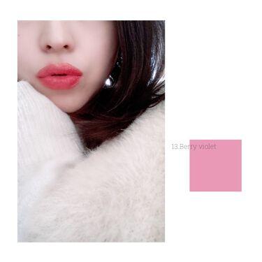 シースルーマットティント 韓服エディション/rom&nd/口紅を使ったクチコミ(8枚目)