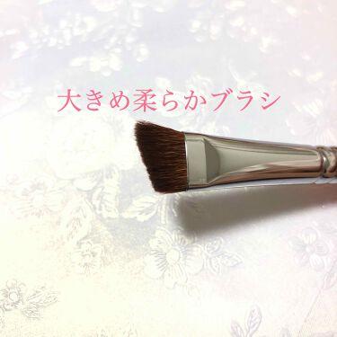 アイブロウブラシ 熊野筆/WHOMEE/メイクブラシを使ったクチコミ(3枚目)