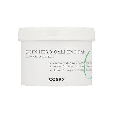 LIPSベストコスメ2020年間 小カテゴリ ピーリング 第1位 COSRX.INC One Step Green Calming Hero Pad (ワンステップグリーンカーミングヒーローパッド)