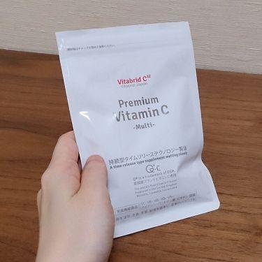【画像付きクチコミ】今こちらのビタミンCのサプリメントを摂っています。10時間かけてゆっくり溶けていくので継続的にビタミンがからだに吸収されるそうです。飲みやすくて美白やエイジングケアなどにとても良いので嬉しいです。