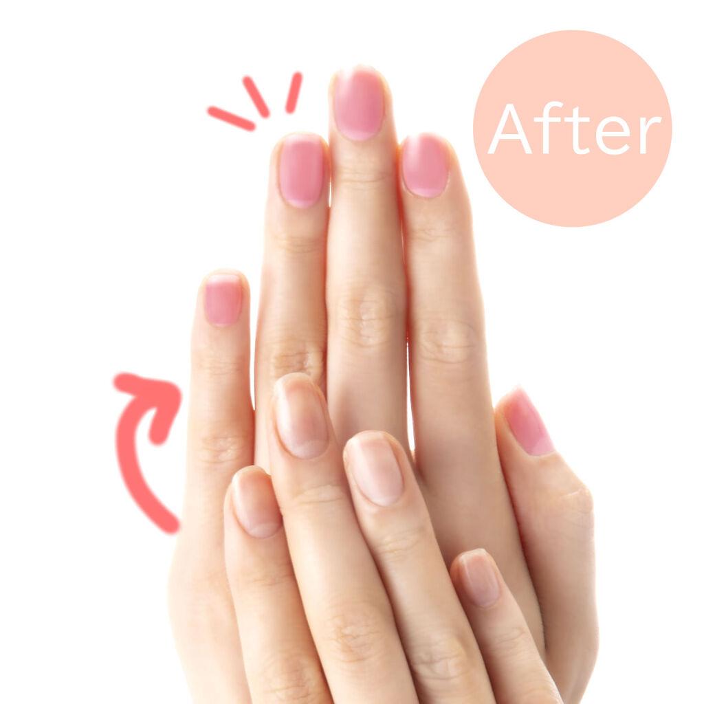 \新発想/爪を染めるネイルティントで、すっぴん爪さくら色♡ネイルできなくてもかわいい指先に♡(3枚目)