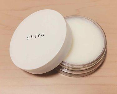 ホワイトカラント 練り香水/shiro/香水(レディース)を使ったクチコミ(1枚目)