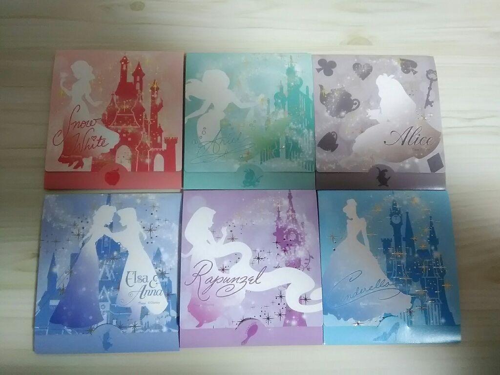 大創吸油面紙的迪士尼公主包裝系列