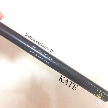 紫陽花さんの「ケイトラスティングデザインアイブロウW(LQ)<パウダーアイブロウ>」を含むクチコミ