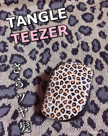 コンパクトスタイラー/TANGLE TEEZER(タングル ティーザー)/ヘアケアグッズを使ったクチコミ(1枚目)