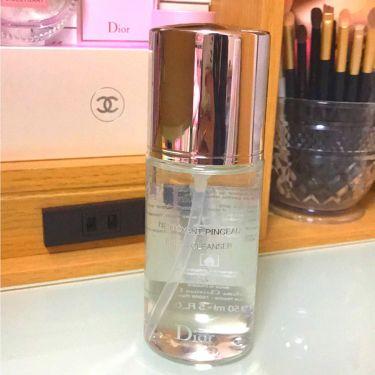ブラシ クレンザー/Dior/その他化粧小物を使ったクチコミ(1枚目)