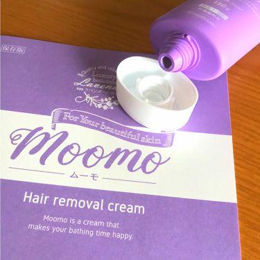 脱毛クリーム MOOMO/自然化粧品研究所/ボディ・バスグッズを使ったクチコミ(3枚目)