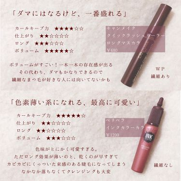 ロング&カールマスカラ アドバンストフィルム/ヒロインメイク/マスカラを使ったクチコミ(3枚目)