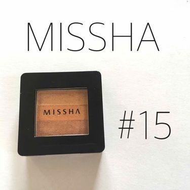 하운☁️さんの「MISSHA(ミシャ)トリプルシャドウ<パウダーアイシャドウ>」を含むクチコミ