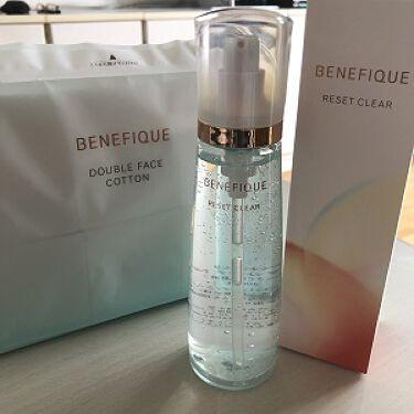 リセットクリアN/BENEFIQUE/化粧水を使ったクチコミ(1枚目)
