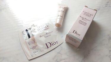 カプチュール トータル セル ENGY スーパー セラム/Dior/美容液を使ったクチコミ(1枚目)