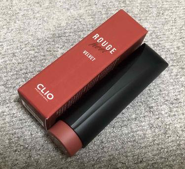 ルージュヒール ベルベット/CLIO/口紅を使ったクチコミ(1枚目)