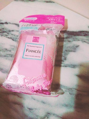 フレグランスボディシート ピュアシャンプーの香り/フィアンセ/その他ボディケアを使ったクチコミ(1枚目)