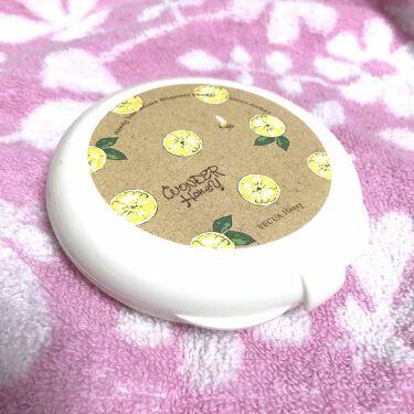 ワンダーハニー アロマエチケットパウダー シトラスソルベ/VECUA Honey/その他ボディケアを使ったクチコミ(1枚目)