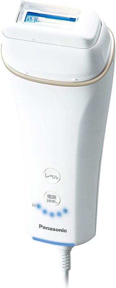 2021/3/1発売 Panasonic 光美容器 光エステ <ボディ&フェイス用> ES-WH77