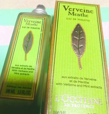 ミントヴァーベナ オードトワレ/L'OCCITANE/香水(その他)を使ったクチコミ(1枚目)