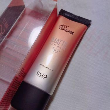 マット サンベース/CLIO/化粧下地を使ったクチコミ(1枚目)