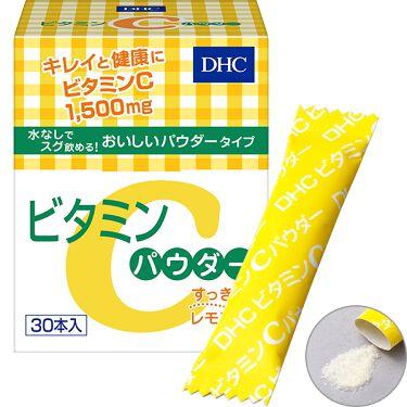 ビタミンCパウダー/DHC/美容サプリメントを使ったクチコミ(1枚目)