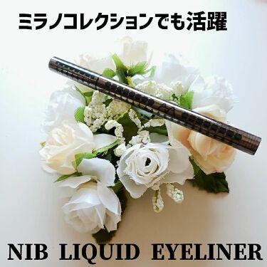 ニブ リクイドアイライナー BK1/ATSUSHI NAKASHIMA Cosme/リキッドアイライナーを使ったクチコミ(1枚目)