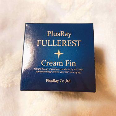フラーレストクリームFin/PlusRay/フェイスクリームを使ったクチコミ(3枚目)
