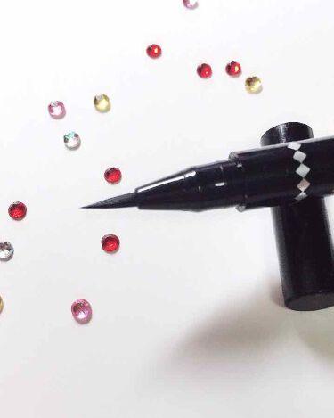 リアルラスティングアイライナー24h/K-Palette/リキッドアイライナーを使ったクチコミ(2枚目)