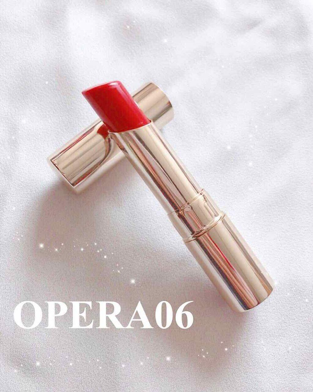 OPERAの06番ピンクレッドは恋が叶う色♡デートメイク初心者さん向け王道リップ