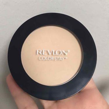 カラーステイ プレスト パウダー N/REVLON/プレストパウダーを使ったクチコミ(2枚目)