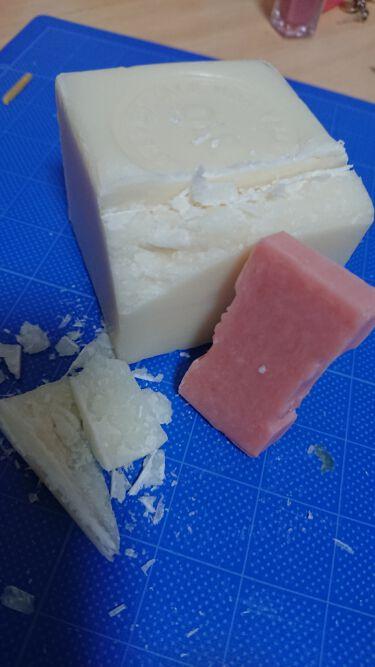 サボン・ド・マルセイユ(マルセイユソープ)/DAISO/洗顔石鹸を使ったクチコミ(4枚目)