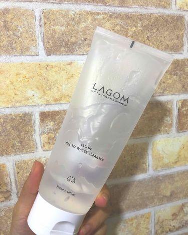ジェルトゥウォーター クレンザー/LAGOM /その他洗顔料を使ったクチコミ(1枚目)