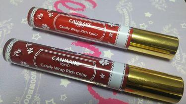 蛛李-churi-さんの「キャンメイクキャンディラップリッチカラー<リップグロス>」を含むクチコミ