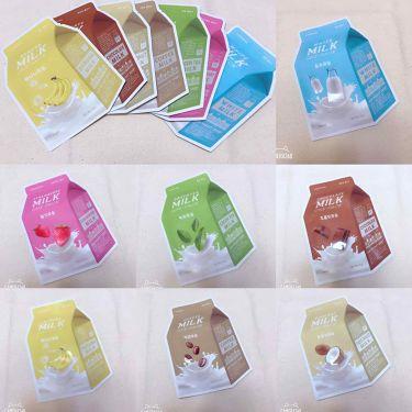 ミルクパック/A'PIEU/シートマスク・パックを使ったクチコミ(1枚目)