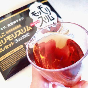 ハーブ健康本舗 黒モリモリスリム(プーアル茶風味) /ハーブ健康本舗/ドリンクを使ったクチコミ(3枚目)
