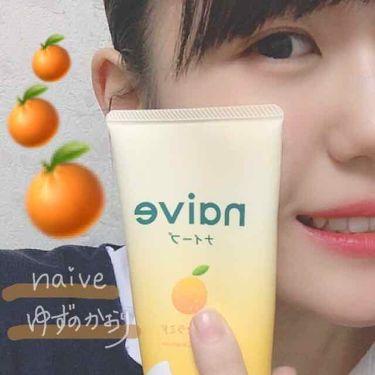 洗顔フォーム(桃の葉エキス配合)/ナイーブ/洗顔フォームを使ったクチコミ(1枚目)