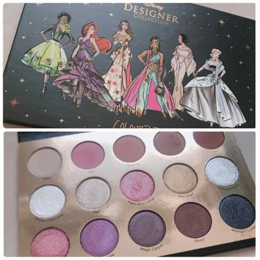 It's a Princess Thing Shadow Palette/ColourPop(カラーポップ)/パウダーアイシャドウを使ったクチコミ(1枚目)