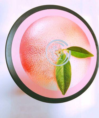 ピンクグレープフルーツ ボディバター/THE BODY SHOP/ボディクリーム・オイルを使ったクチコミ(1枚目)