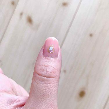 【画像付きクチコミ】今日はネイル☺️爪が痛んでいたので少しジェルお休みしてましたがまた再開♪ベースジェル↓ピンクジェル×3↓ダイソーネイルシールを爪の根元側に貼る↓トップコートという感じです♪ポリジェシカは普通のネイルをやる感覚でジェルができちゃうから割...