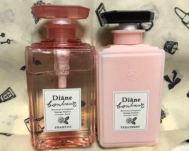 ダイアンボヌールダメージリペアシャンプー/トリートメント グラースローズの香り/モイスト・ダイアン/シャンプー・コンディショナーを使ったクチコミ(2枚目)