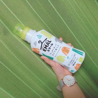エマール リフレッシュグリーンの香り/エマール/香り付き柔軟剤・洗濯洗剤を使ったクチコミ(2枚目)