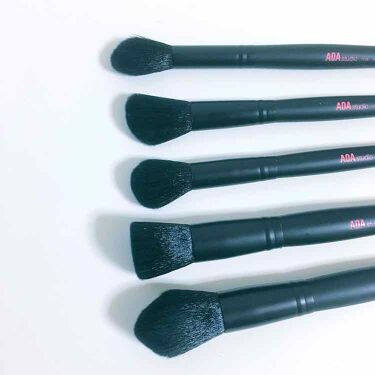 その他 10-Piece PLUSH Faux Mink Brush Set