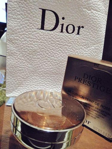 プレステージ ル クッション タン ドゥ ローズ/Dior/その他ファンデーションを使ったクチコミ(1枚目)