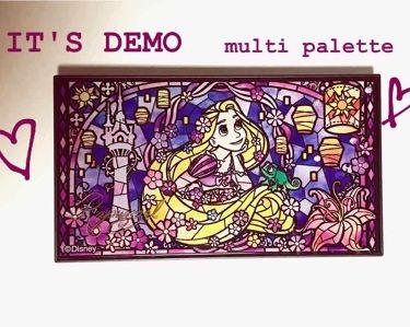 ITSDEMO限定マルチパレット/IT'S DEMO/メイクアップキットを使ったクチコミ(1枚目)
