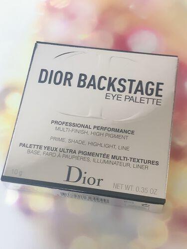ディオール バックステージ アイ パレット/Dior/パウダーアイシャドウを使ったクチコミ(3枚目)