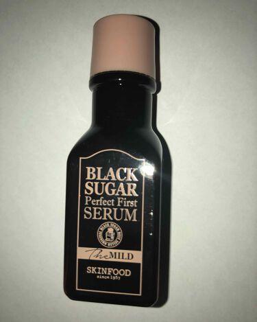 ブラックシュガー パーフェクトファーストセラム2X  エッセンシャル/SKINFOOD/美容液を使ったクチコミ(1枚目)