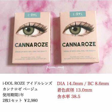 i-DOL ローゼ(Rose)ベージュブラウン/カラーコンタクト/その他を使ったクチコミ(3枚目)