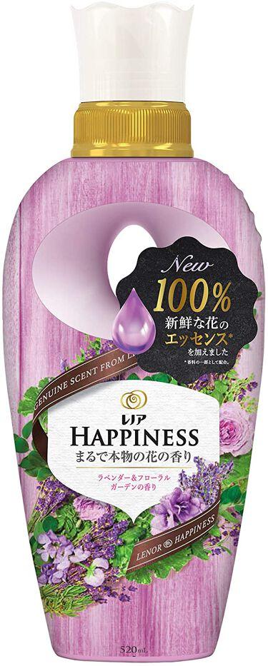 2020/10/28発売 レノア レノア ハピネス ナチュラルフレグランス ラベンダー&フローラルガーデンの香り