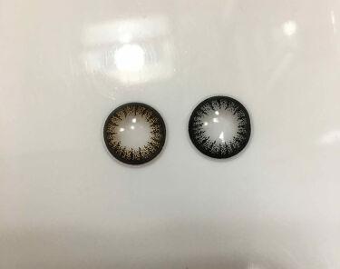 ワンデーキャラアイ カラーシリーズ/Cara Eyes/カラーコンタクトレンズを使ったクチコミ(3枚目)