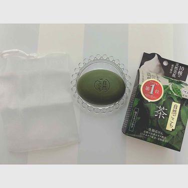 自然ごこち 茶 洗顔石けん/自然ごこち/洗顔石鹸を使ったクチコミ(3枚目)